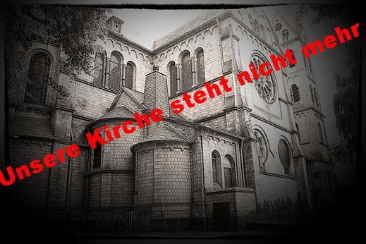 Greanpace Aktivisten besetzen Immerather Kirche 8.01.2018