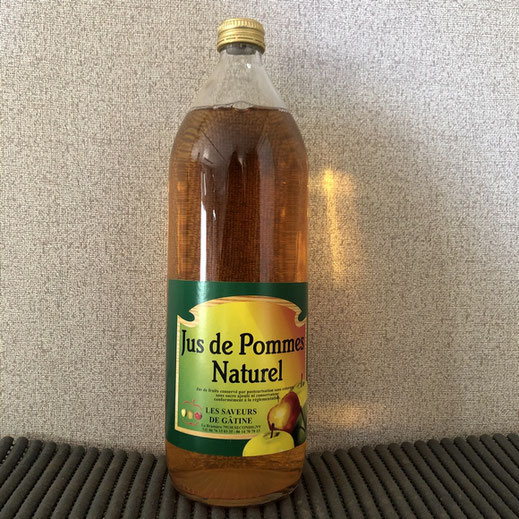 Jus de pomme naturel produit sur la ferme les saveurs de Gâtine