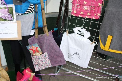 Caballo Couture; Taschen aus alten Pferdedecken; Upcycling; aus Alt mach Neu; Köln;  Pferderennbahn Köln
