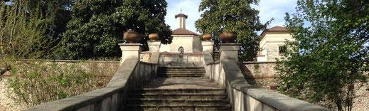 Cameri, villa picchetta e la valle dei fiume Ticino