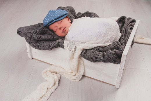 newborn slaapt