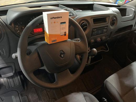 GPS Ortung für Renault Master