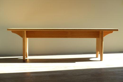 Shaker meetinghouse bench