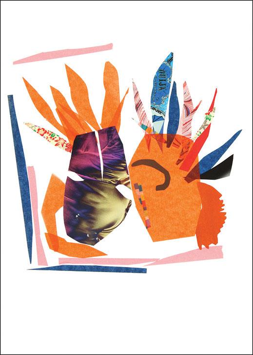 *Love Heads, 2013, 29,7 x 21 cm