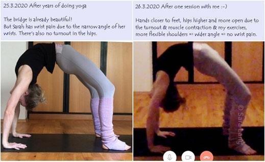 Backbending Augsburg Stretching-Kurs