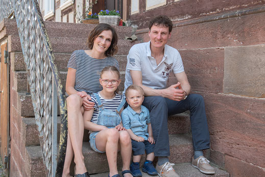 Familien-Shooting in der Corona-Zeit