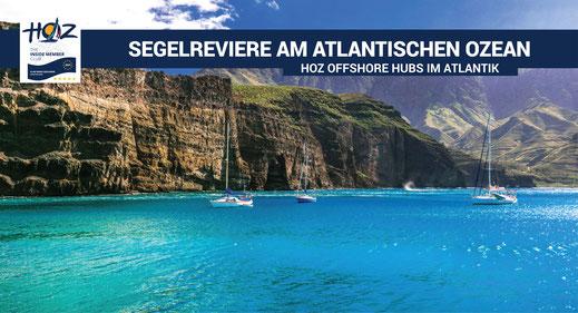 Segelreviere im Atlantischen Ozean | www.hoz.swiss