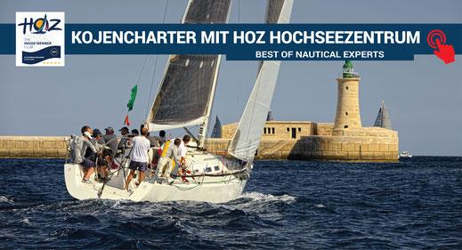 Kojencharter bei HOZ Hochseezentrum | www.hoz.swiss
