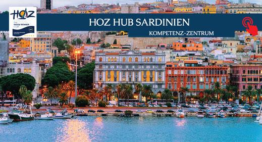 HOZ HOCHSEEZENTRUM INTERNATIONAL | Segeltörns Italien | HOZ Hub Sardinien | www.hoz.ch