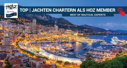 TOP | Jachten chartern als HOZ Member | www.hoz.swiss