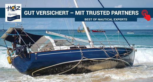 Gut versichert | Skipper und Yacht Versicherung | www.hoz.swiss