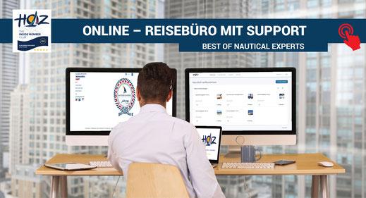 Online-Reisebüro für Segel- und Motorboottörns | www.hoz.swiss