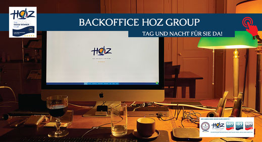 Backoffice der HOZ Hochseezentrum Group | www.hoz.swiss