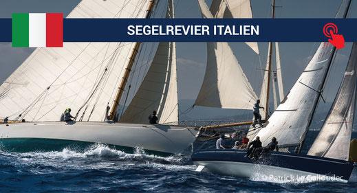 Italien | das Segelrevier des HOZ Hochseezentrums | www.hoz.swiss