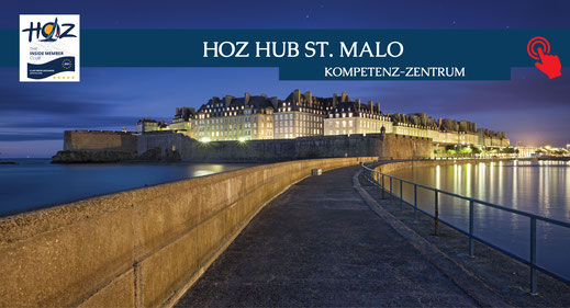 HOZ HOCHSEEZENTRUM INTERNATIONAL | Segeltörns in der Bretagne | HOZ Hub St. Malo | www.hoz.ch