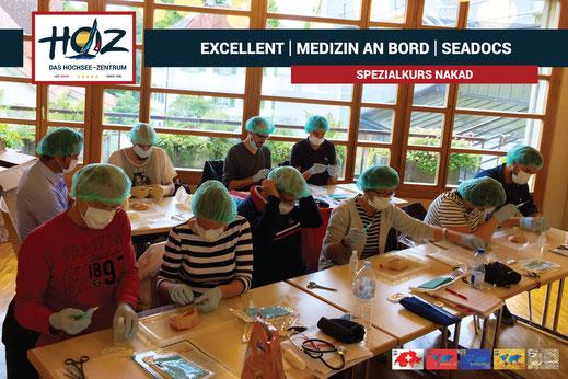 Medizin an Bord | Nothelferkurs mit den SeaDocs | www.hoz.swiss