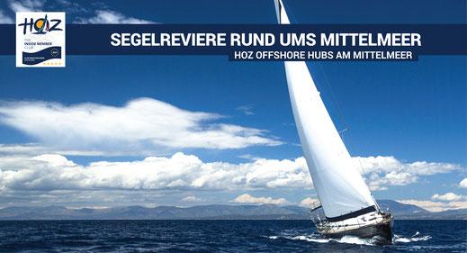 Segelreviere rund ums Mittelmeer | www.hoz.swiss