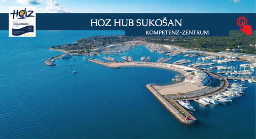 HOZ HOCHSEEZENTRUM INTERNATIONAL | Segel- und Motorboottoerns Kroatien | HOZ Hub Sukosan | www.hoz.ch