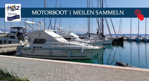 Motorboot | Meilen sammeln | www.hoz.swiss