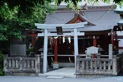 神田明神境内の籠祖神社(合祀社殿)