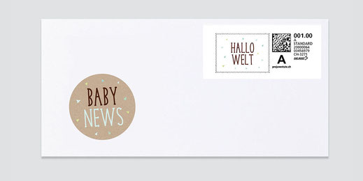 Webstamp Briefmarke