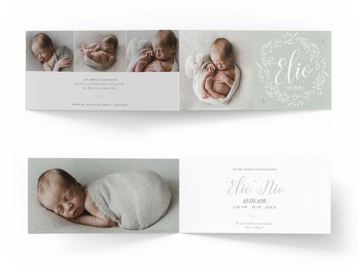 Geburtsanzeige Geburtskarte Schweiz kreativ speziell kartendings.ch