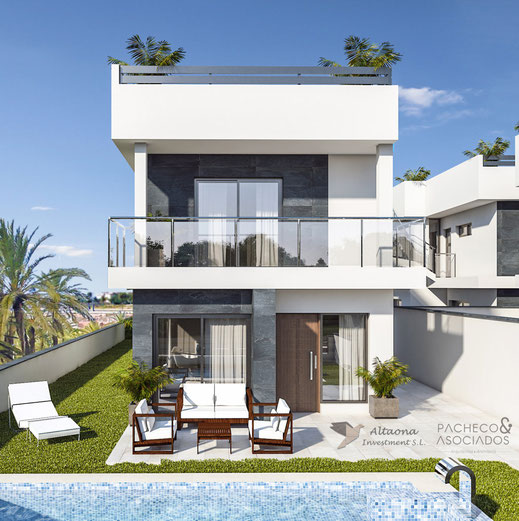 Balcones Club Apartments: Three Luxurious Villas And Four Lovely Apartments