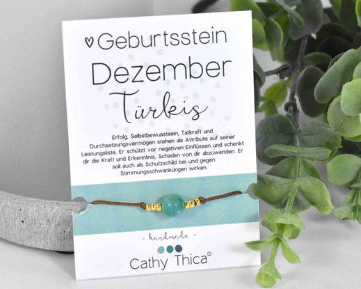 Geburtsstein Dezember - Türkis  11,- €
