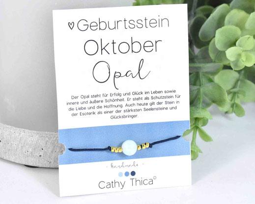 Geburtsstein Oktober - Opal  11,- €