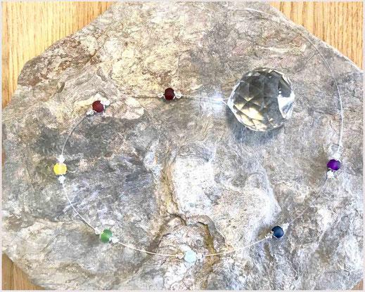 Sun Catcher Chakra mit Kristallkugel 4 cm  26,90 €