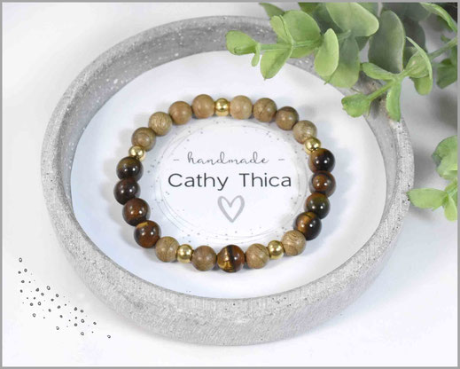 Tigerauge Armband von Cathy Thica