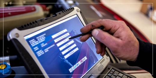Scuderia GT Fehlerspeicherdiagnose Ferrari & Maserati