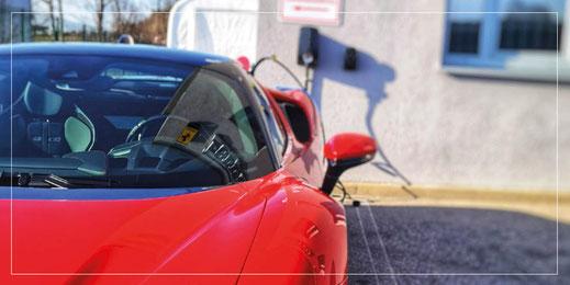 Scuderia GT: Stromnutzung - E-Ladestation