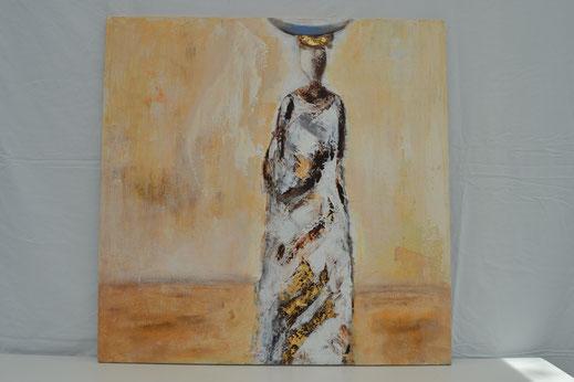 Bild Nr. 25, MORGENLICHT, Acryl, 80x80 cm