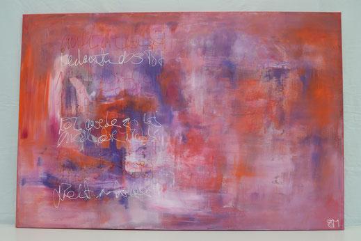 Bild Nr. 20, AURORA, Acryl, 80x120 cm