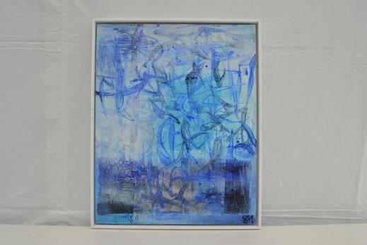 Bild Nr. 29, LEICHTIGKEIT DES SEINS, Acryl_Mischtechnik, 40x50 cm