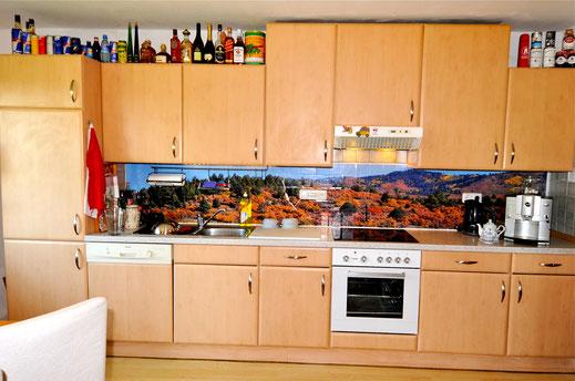 Die Rocky Mountains in der Küchenzeile