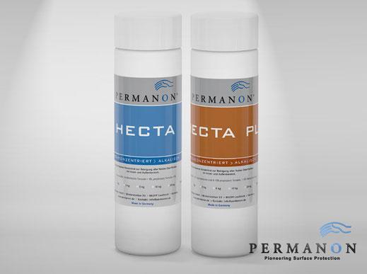 Permanon HECTA für die Yachtpflege