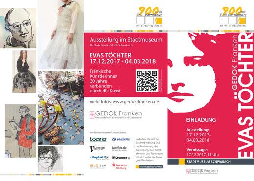 GEDOK, Franken, Gedok, Schwabach, Künstlerinnen, Ausstellung, Vernissage,