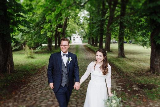 Fotograf mit Hochzeitsbildern in Lübeck