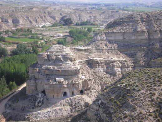 yacimiento arqueológico castellón alto galera granada