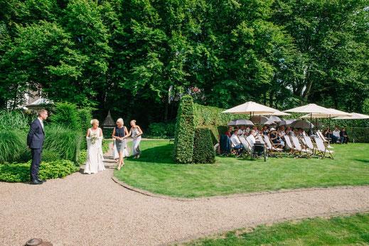 Sommer pur - die Freie Trauung im Garten des Wachtelhofs, Rotenburg Wümme