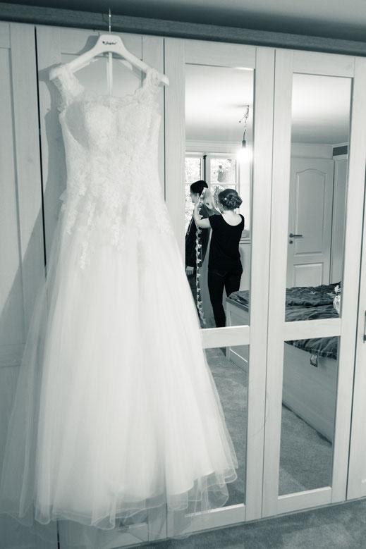 Hochzeitskleid, Hochzeitsreportage, Hochzeitsfotos
