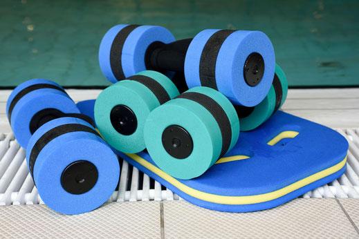 Hanteln für Aquagymnastik in Waldhausen