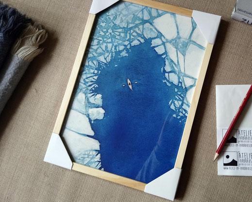 Aquarellfarbe Landschaft Zeitgenössische Malerei
