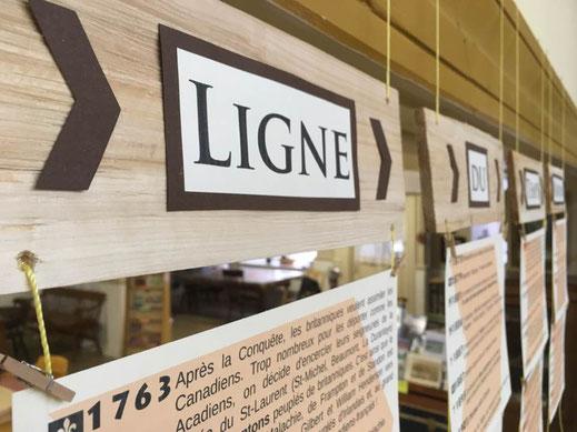 Ligne du temps St-Léon-de-Standon Musée Espaces mémoires Bellechasse histoire