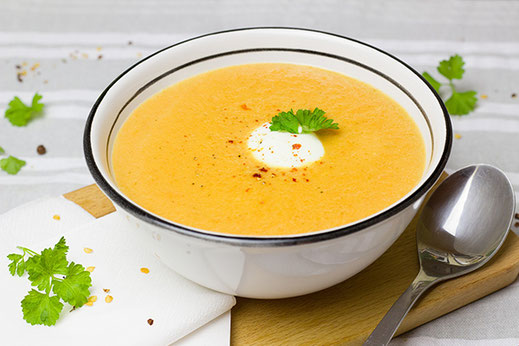 Radiant Reality Blog | Staying Healthy in the Fall with Ayurveda | Carrot-Ginger Soup
