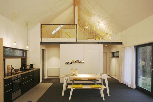 Knuetthuus Esstisch Wohnbereich Birke Multiplex