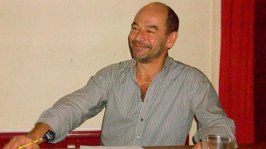 Thomas Kornmann als Theodor Fontane (Probenfoto)