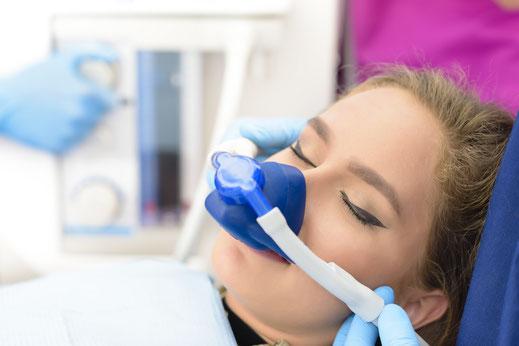 Narkose Zahnarzt St. Leon-Rot Dämmerschlaf Behandlung im Schlaf